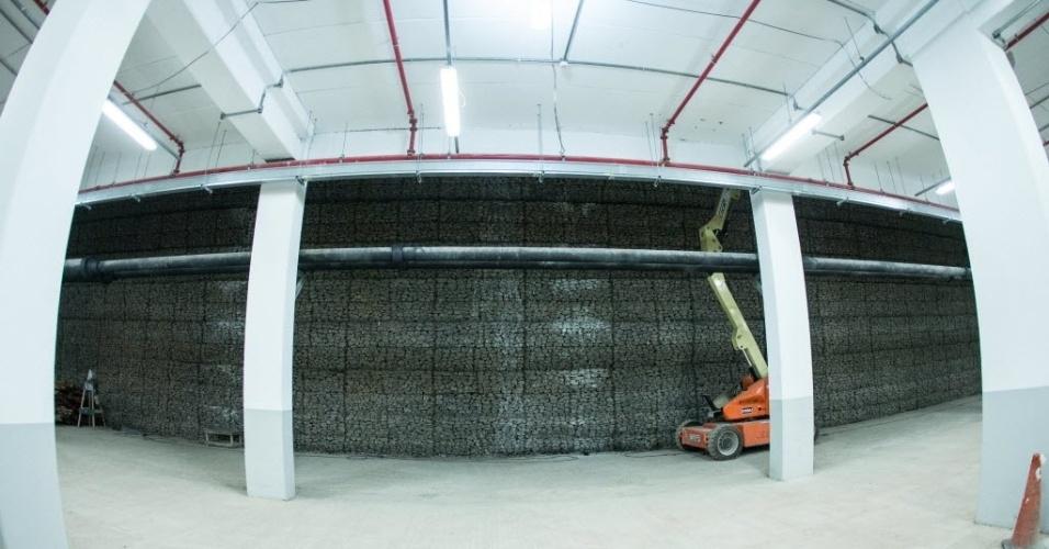 Interior do estádio Itaquerão ainda conta com alguns setores passando por reformas