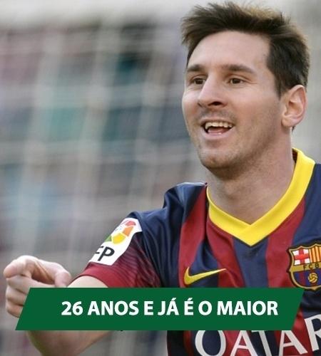 Messi fez o 371º gol da carreira e se torna o maior artilheiro da história do Barça