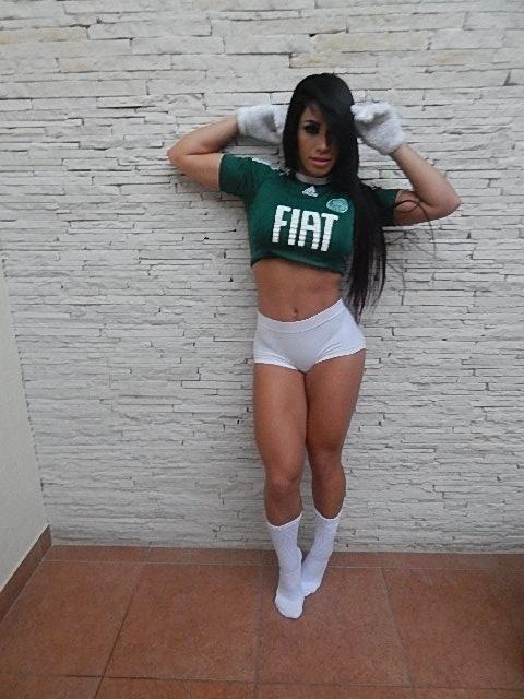 Ariadne Pimenta, candidata do Palmeiras