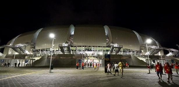 Arena das Dunas será palco das partidas México x Camarões, Gana x EUA, Japão x Grécia e Itália e Uruguai