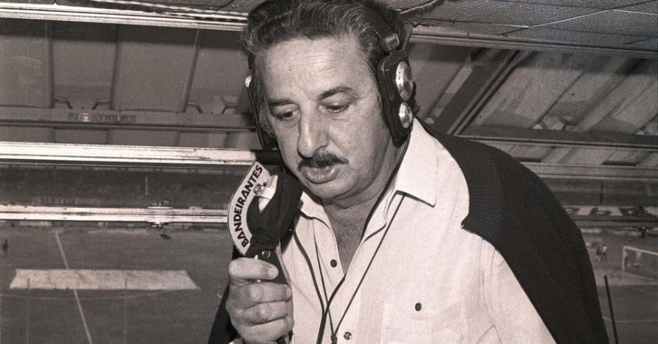 Fiori Gigliotti, narrador esportivo