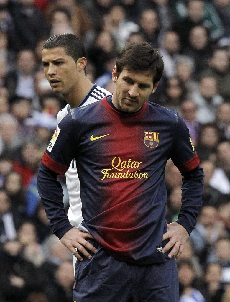 Messi e Cristiano Ronaldo se enfrentam em clássico Barcelona x Real Madrid