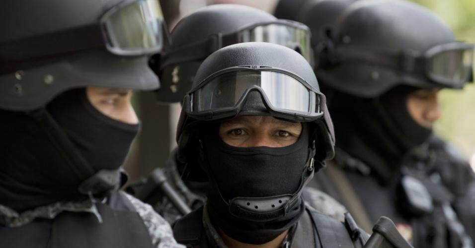 25.mar.2014 - São Paulo ainda deve receber outros testes antes da realização da Copa do Mundo