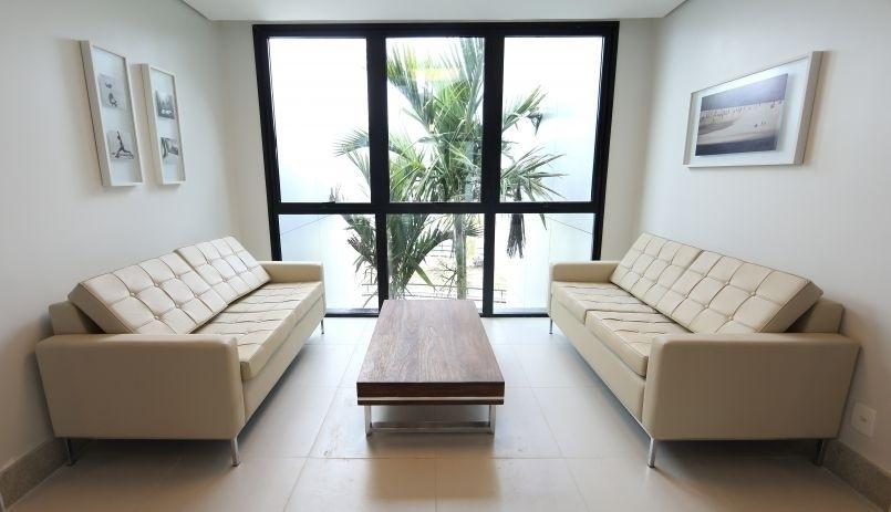 Nova sala de estar da Granja Comary
