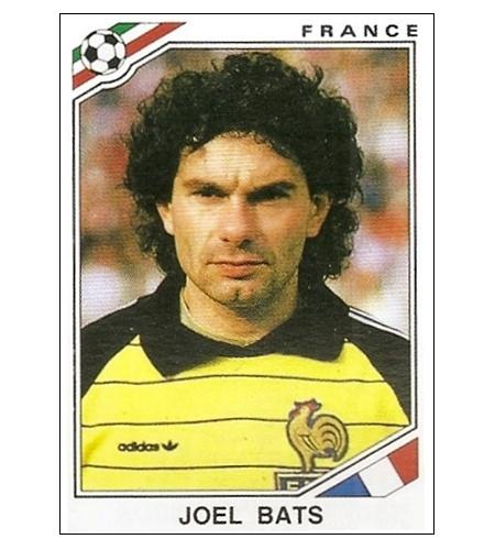 Joel Bats (França) Copa de 1986
