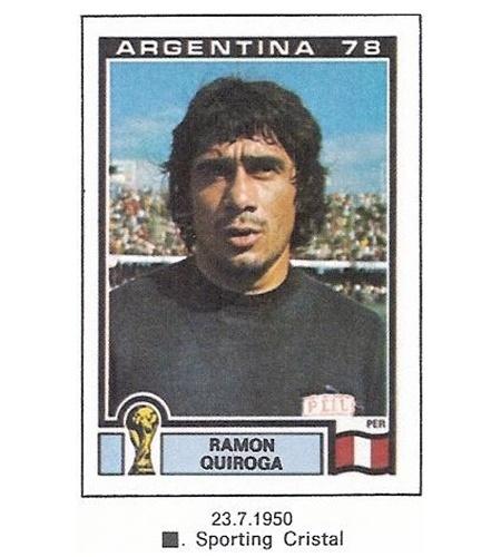Ramón Quiroga (Peru): Copa de 1978