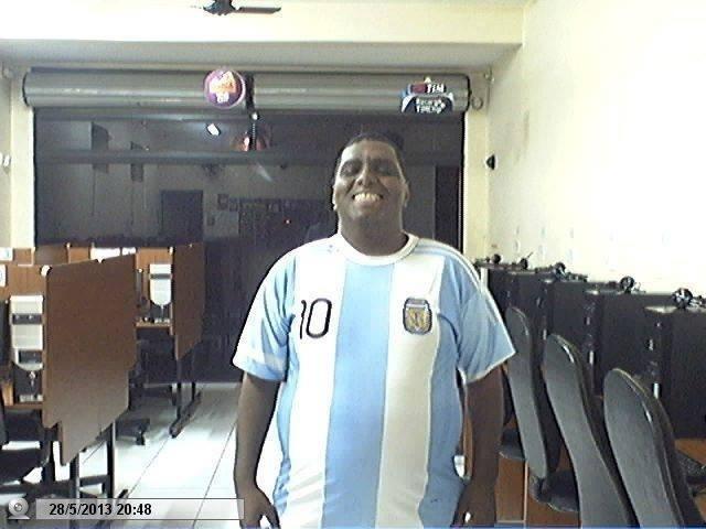 """Wander Florencio, de Bauru, interior de São Paulo, não se sente representado pela Seleção Brasileira e diz que escolheu a Argentina """"devido à coragem de seu povo, que é bem diferente do brasileiro"""""""