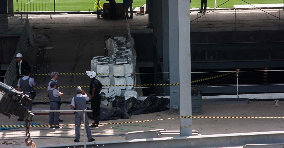 Operário do Itaquerão não resiste a ferimentos e morre no hospital