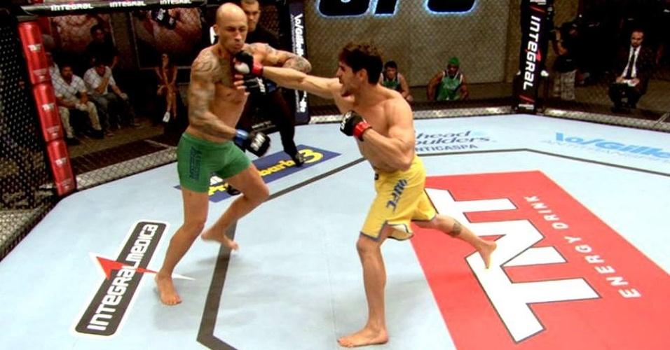 Antonio Cara de Sapato nocauteou Edgard Magrão na primeira luta de pesados do TUF Brasil 3