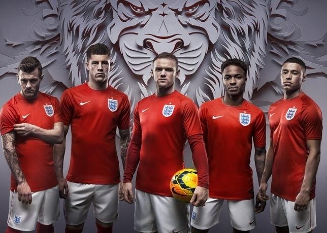 Uniforme da seleção inglesa custará aproximadamente R$ 360