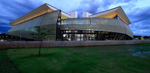 Estádio que ainda está em obras na capital mato-grossense vai receber quatro jogos da Copa do Mundo