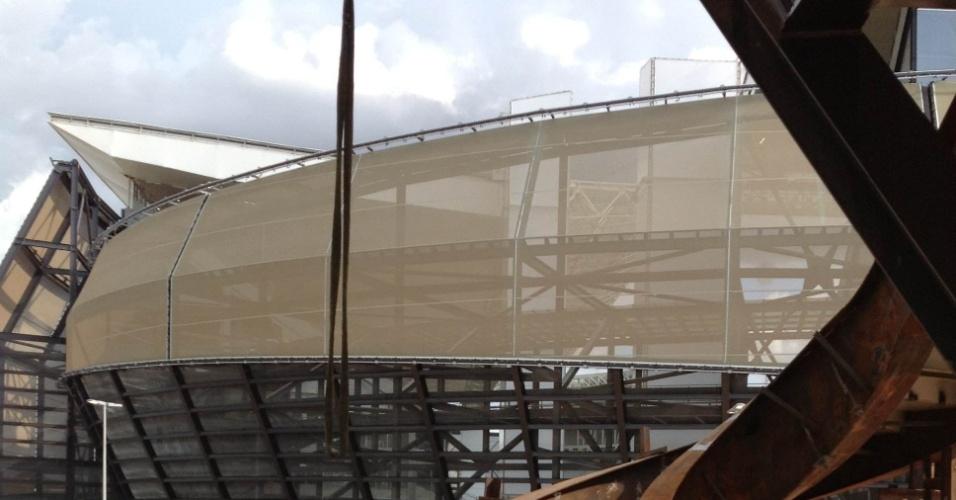 Arena Pantanal foi inaugurada com o jogo entre Mixto e Santos, mas o entorno do estádio em Cuiabá ainda passa por obras