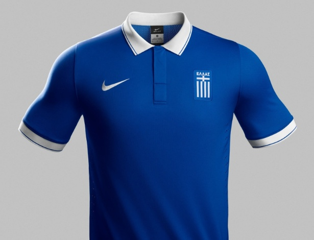 Grécia divulga uniforme para a Copa do Mundo do Brasil