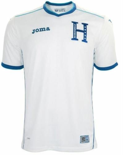 Honduras usará os tradicionais uniformes em azul e branco na Copa do Mundo
