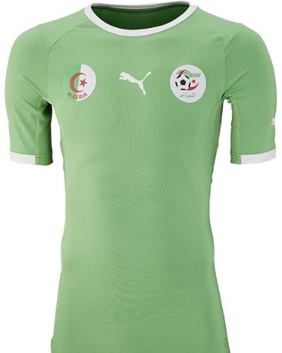 Segundo uniforme da Argélia para a Copa do Mundo