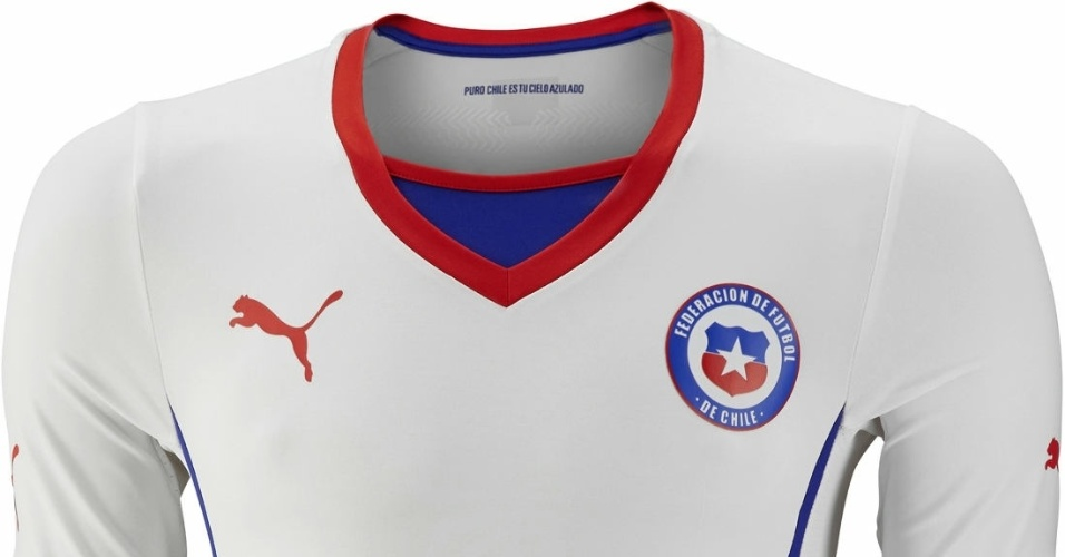 Segundo uniforme do Chile para a Copa do Mundo de 2014