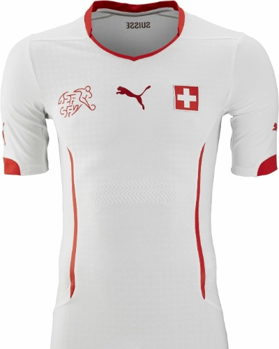 Uniforme da Suíça para a Copa do Mundo de 2014