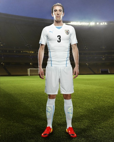 Uniforme do Uruguai para a Copa do Mundo de 2014