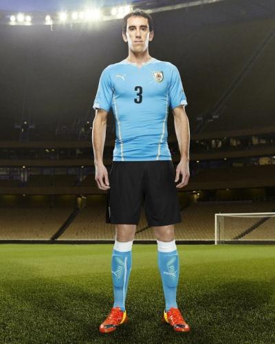 Uniforme do Uruguai para a Copa do Mundo de 2014