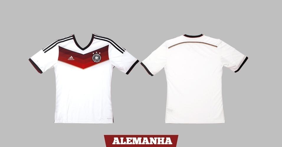 Alemanha - Camisa Branca