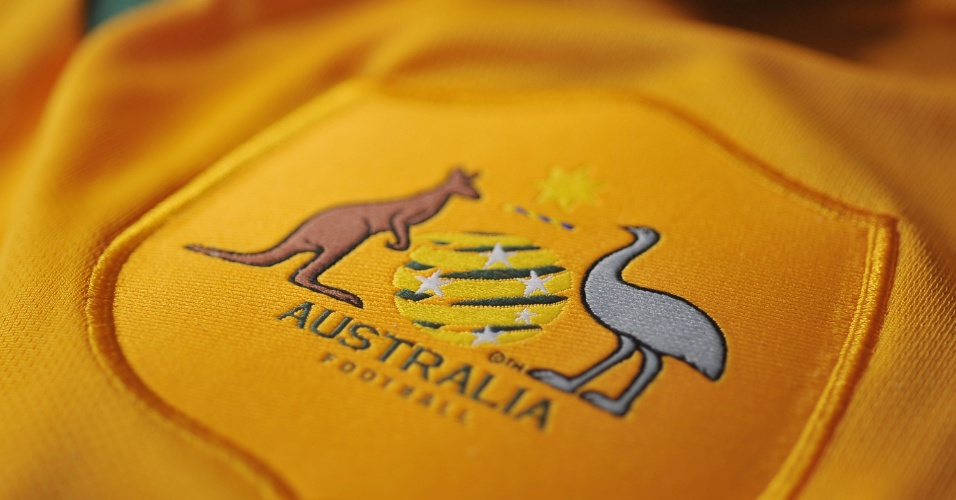 Austrália - Camisa amarela - escudo