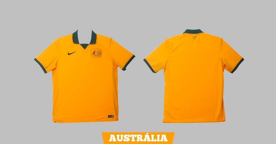 Austrália - camisa amarela