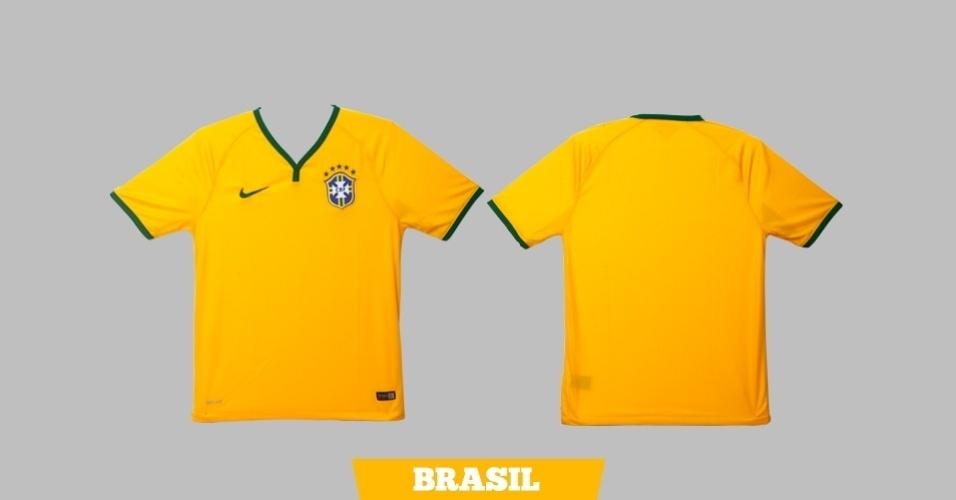 Brasil: camisa amarela