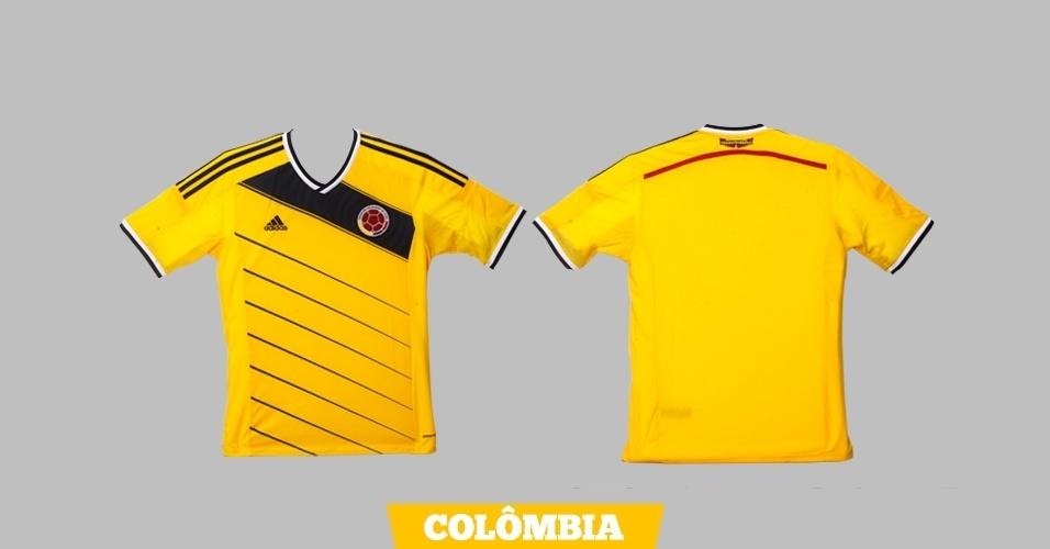Colômbia - Camisa amarela
