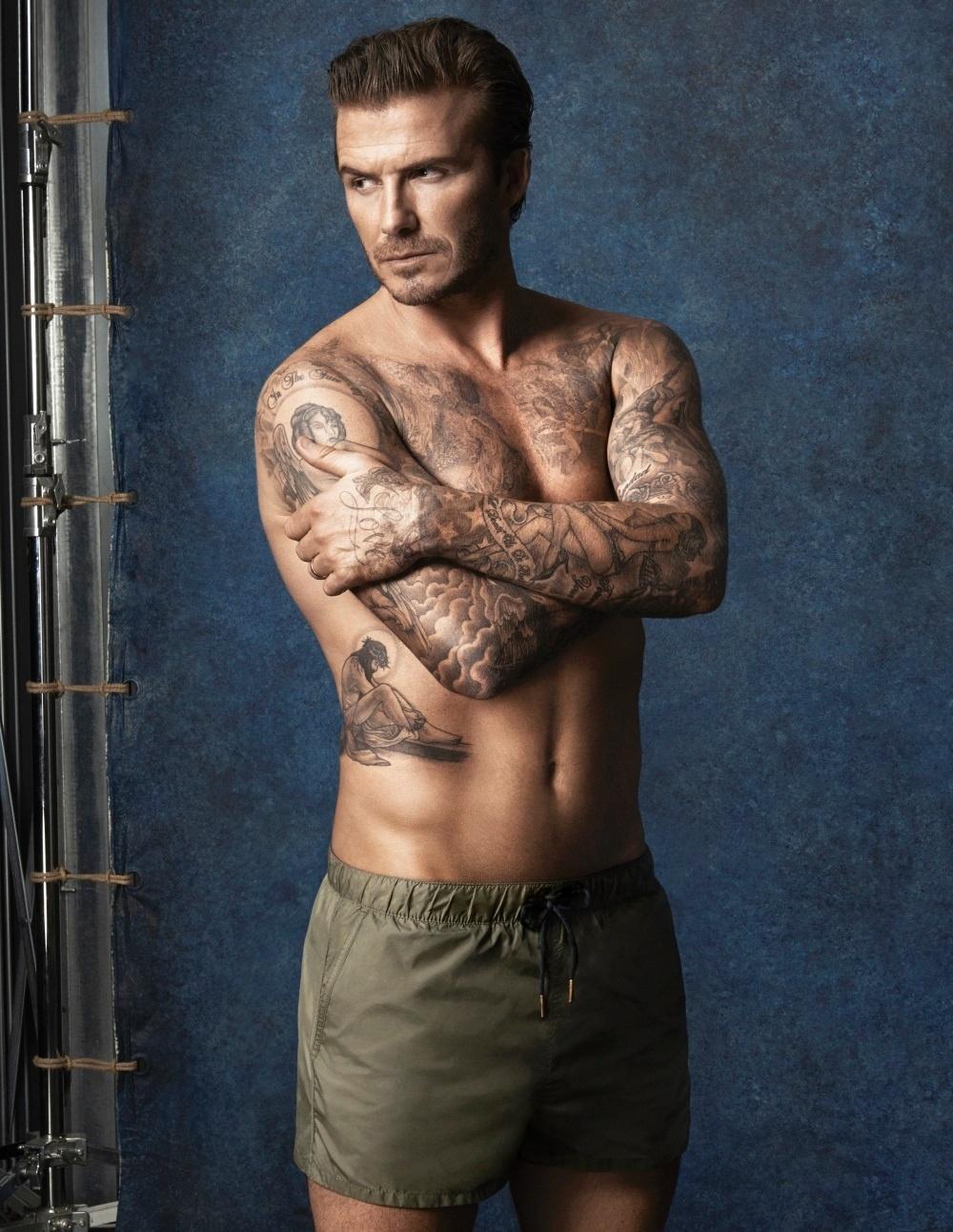 David Beckham lança coleção de moda praia