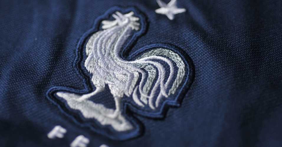 França - Camisa Azul - Escudo