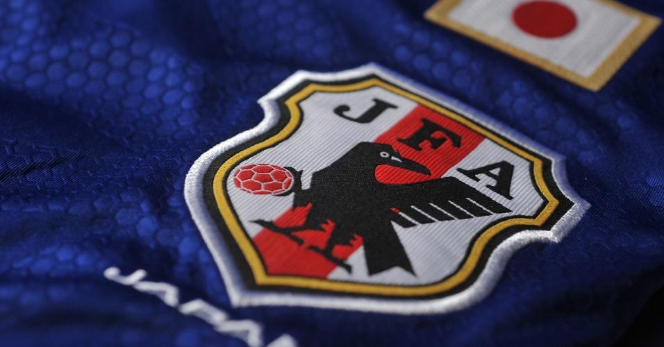 Japão - Camisa Azul - Escudo