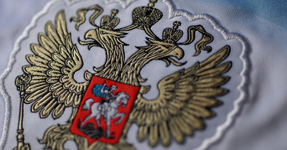 Rússia - Camisa Branca - Escudo