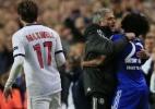 "Mourinho elogia Willian após United x Chelsea: ""Top dos tops"" - AFP PHOTO / ADRIAN DENNIS"