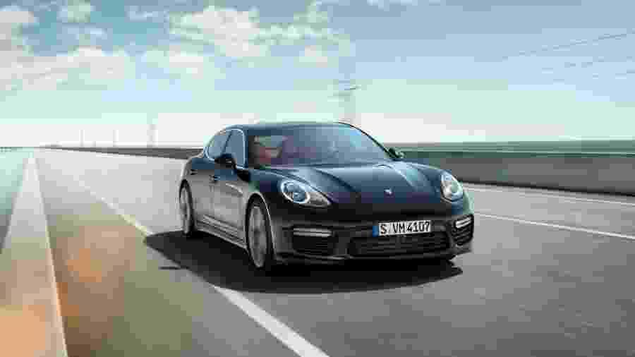 O Porsche Panamera - Divulgação