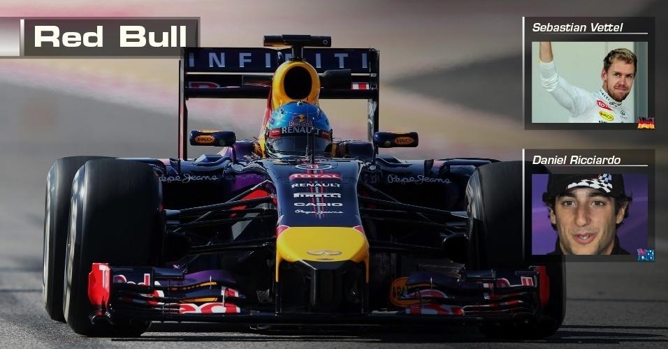 Red Bull - Sebastian Vettel e Daniel Ricciardo