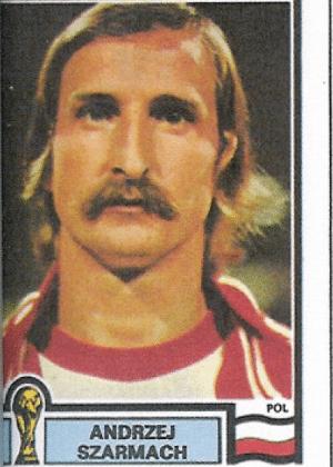 Andrzej Szarmach/Polônia-1978: Repare como os mullets combinam com o bigode, esvoaçando para os lados. Que estilo!