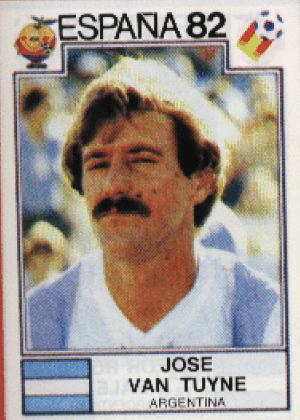 Jose Van Tuyne/Argentina-1982: Esse olhar 43 mais esse bigode...