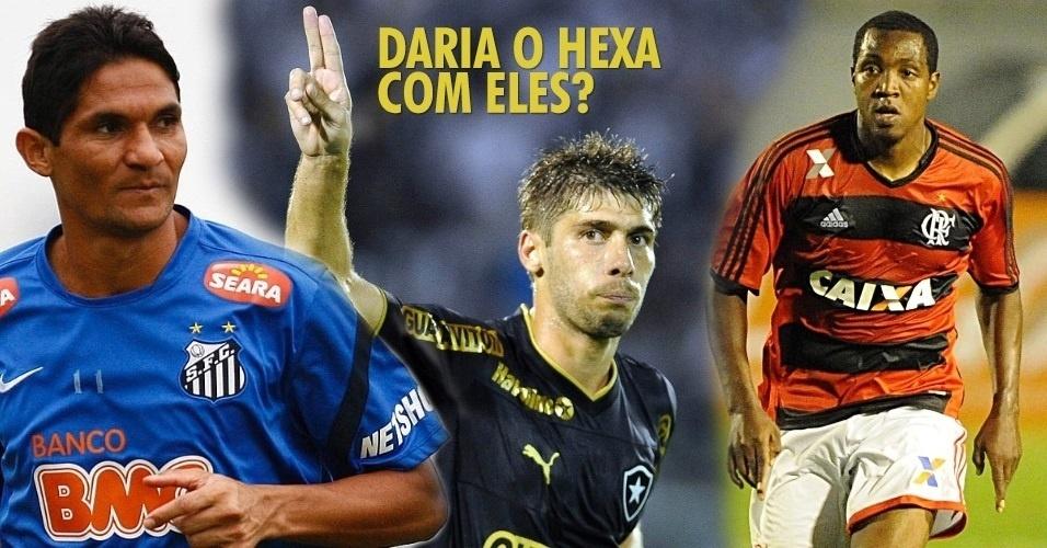 O UOL Esporte relembra alguns jogadores testados no ciclo da Copa-2014, por Mano Menezes e Felipão. Mas hoje as chances de eles vestirem a amarelinha é algo bem distante. Será que com eles daria pra levar o hexa?