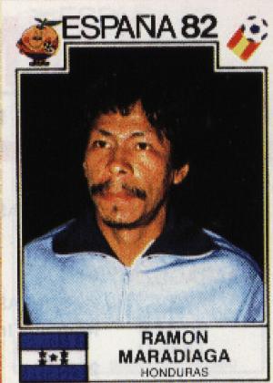 Ramon Maradiaga/Honduras-1982: Maradiaga, Madruga... Sabem onde vamos chegar se continuarmos, não?
