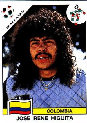 René Higuita/Colômbia-1990: E tinha Higuita. Único.