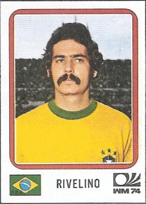 Rivellino/Brasil-1974: Rivellino não seria Rivellino sem um belo bigode, concordam?