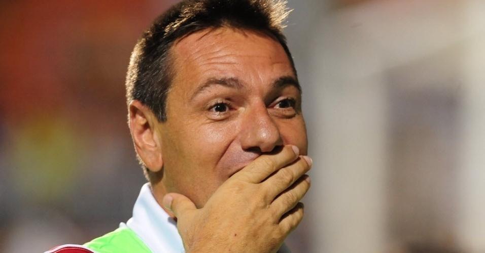 Técnico do Ituano, ex-jogador Doriva se emociona com título em cima do Santos
