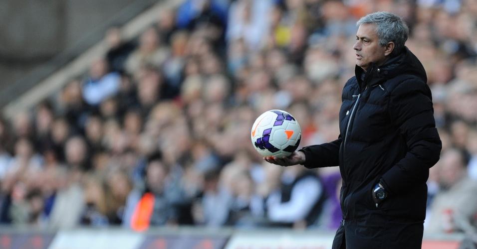 Técnico José Mourinho, do Chelsea