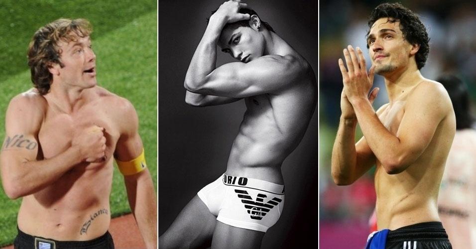 As jornalistas do UOL Esporte fizeram um ranking para eleger os jogadores mais bonitões que vão disputar a Copa do Mundo. Confira: