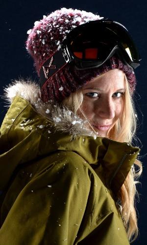 Hannah Teter, destaque norte-americana do snowboard