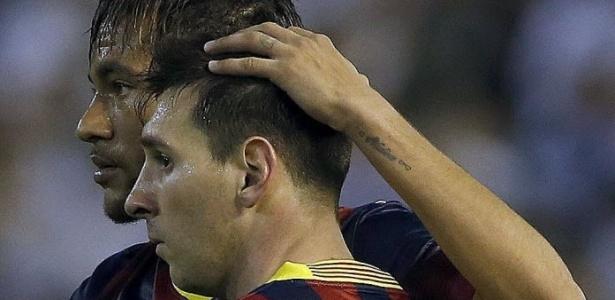Neymar disse que vai torcer por Messi na final, mas argentinos não acreditaram muito