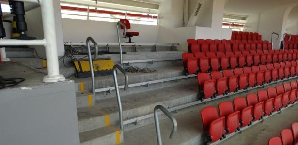 Número de cadeiras retiradas não é preciso, mas redução fará sócios serem chamados pelo clube
