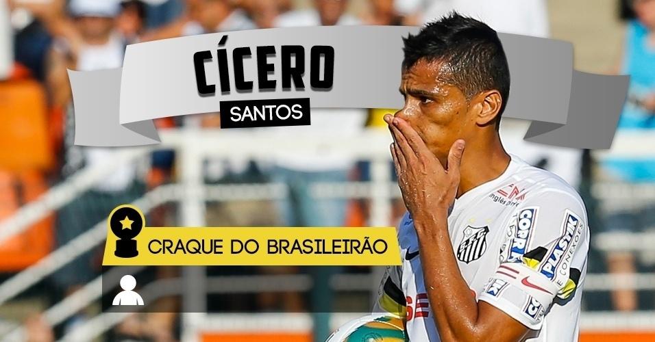 Craque do Brasileirão - Cícero/Santos