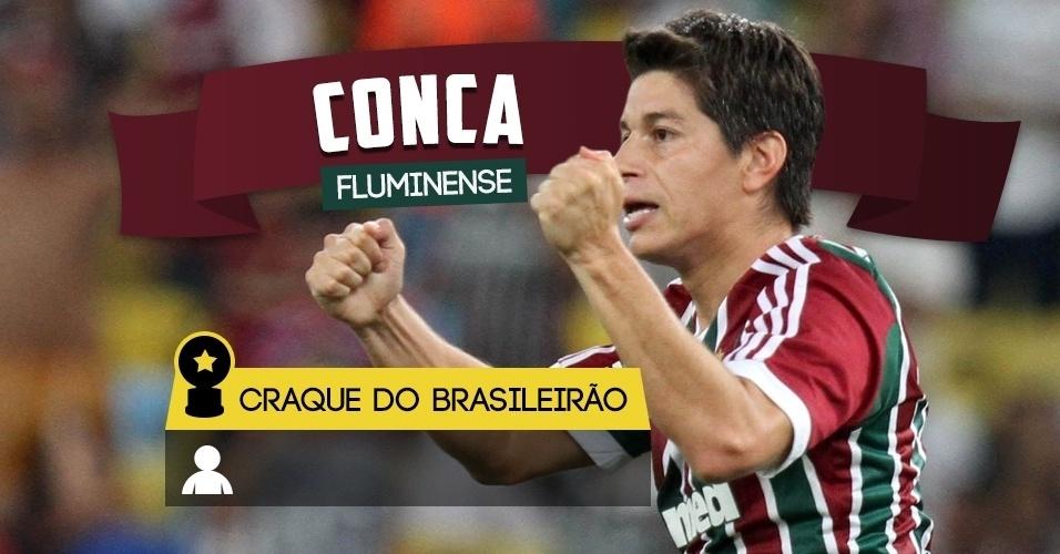 Craque do Brasileirão - Conca/Fluminense