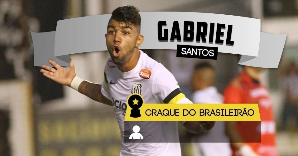Craque do Brasileirão - Gabriel/Santos